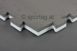 Sportag® Fitness and Martial Arts Mat 25 mm (grey-black)